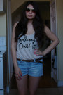Divided-shirt-zara-shorts