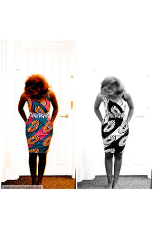 kente print Touch Of Africa dress