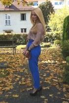 MACHIMA pants - vintage bag - Zara heels - H&M bracelet - Zara blouse