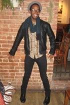 Cheap Monday jacket - Diesel jeans - Salt Valley shirt - Frye boots