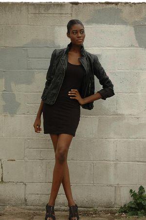 new look shoes - Dorothy Perkins jacket - H&M dress