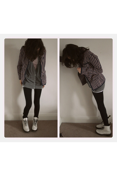 blazer - sweater - leggings - t-shirt - shoes