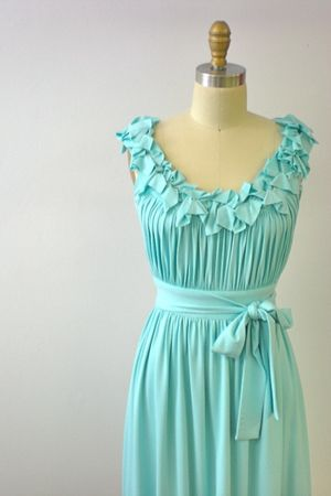 blue carolhannah dress