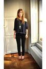 Black-cheap-monday-jeans-blue-brandi-melville-jumper