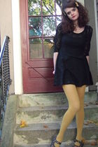 Target dress - American Apparel stockings - Forever 21 accessories - shoes