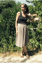 full handmade skirt - Terranova shirt - Camaïeu sandals