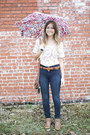 Brown-f21-boots-navy-high-waisted-charlotte-russe-jeans
