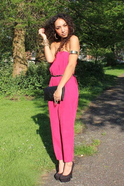 asos suit - asos belt - deezee pumps