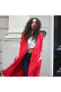 Silver-mostwanted-shoes-red-vintage-coat-navy-river-island-jeans