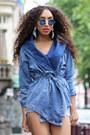 Black-dolce-vita-shoes-sky-blue-sammydress-jacket
