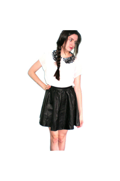 faux leather h m skirts primark blouses quot leather lace