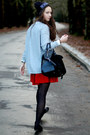 Dark-gray-studded-zara-shoes-gray-beanie-rebell-hat-black-leather-zara-bag