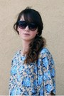 Navy-secondhand-bag-dark-gray-h-m-sunglasses-black-maxi-h-m-skirt-sky-blue