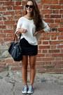 Ivory-h-m-sweater-dark-gray-mango-bag-black-h-m-sunglasses