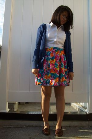 Armani Exchange top - shorts - Walmart cardigan - shoes