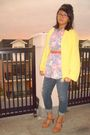 Yellow-thrifted-sweater-purple-thrifted-shirt-charlotte-russe-jeans-walmar