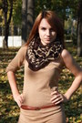 Bershka-dress-new-yorker-scarf-stradivarius-belt