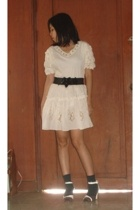 Marc Jacobs dress - Zara Trf belt - socks - Charles and Keith shoes