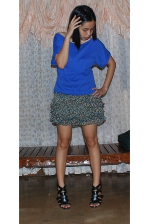 Mango shirt - Topshop skirt - f21 shoes