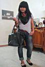Black-mims-shoes-blue-zara-pants-black-la-fayette-purse-red-claires-belt-