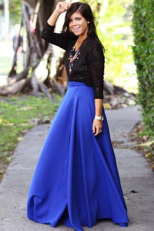 polyester furor moda skirt