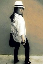 Topshop shirt - shirt - H&M accessories - purse