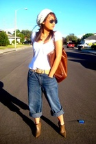 H&M shirt - Wet Seal accessories - forever 21 accessories - Wet Seal purse - Gue