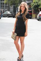 sam edelman heels - planet blue dress - Zara bag - JCrew accessories
