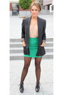 American-apparel-tights-zara-top-zara-skirt-michael-kors-heels-michael-k