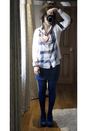 Forever 21 heels - Forever 21 blouse - Forever 21 skirt