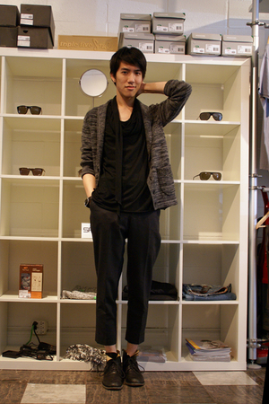 Filippa K sweater - Diet Butcher Slim Skin top - Filippa K pants - Fiorentini  B