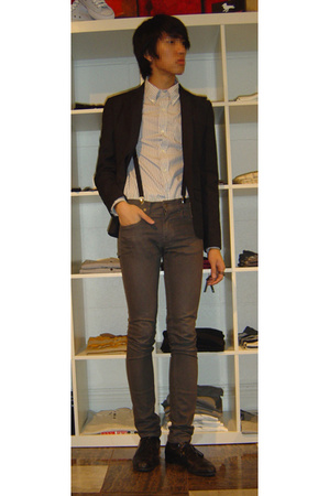 Kostym jacket - Band of Outsiders shirt - april 77 jeans - shoes