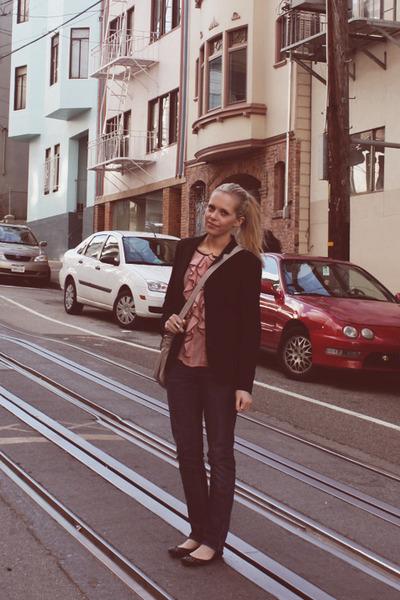 Gap jeans - Gap jacket - Marc by Marc Jacobs bag