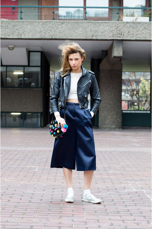 Lazy Oaf bag - Nasty Gal jacket - River Island top - asos sneakers