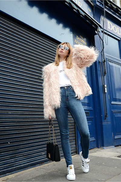 Missguided jacket - Monki jeans - Missguided top