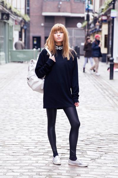 Topshop bag - Primark pants - Misbehave blouse - asos flats