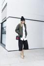 Monki-hat-missguided-jacket-zara-heels