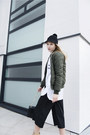 Monki-hat-missguided-jacket-zara-heels