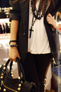 Black-zara-blazer-black-topshop-leggings-black-purse-black-kokei-accessori