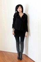 black vera wang jacket