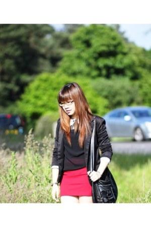 Zara skirt - Zara blazer