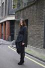 Black-lace-up-ann-demeulemeester-boots-black-drape-religion-jacket-black-hol