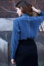 Navy-silk-equipment-shirt-black-mules-alexander-wang-wedges-black-wool-wrap-