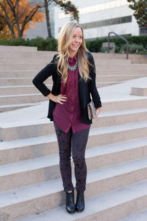 Plenty jeans - Modern Vintage boots - Plenty blazer - Plenty bag