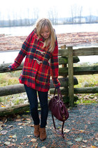 Anthropologie jacket - Plenty by Tracy Reese boots - J Brand jeans