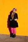 Black-combat-boots-dolce-vita-boots-black-new-york-and-company-blazer