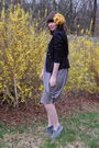 Black-arden-b-blazer-white-jean-paul-gaultier-for-target-dress-gray-forever-