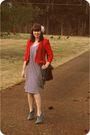 Red-vintage-blazer-white-jean-paul-gaultier-for-target-dress-black-vintage-c