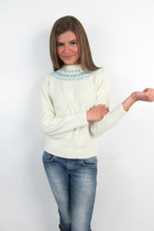 Cream-nordic-sweater-vintage-1970s-sweater