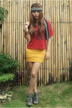 gold bandage Kirin-Kirin skirt - army green army-printed SM Kidswear socks